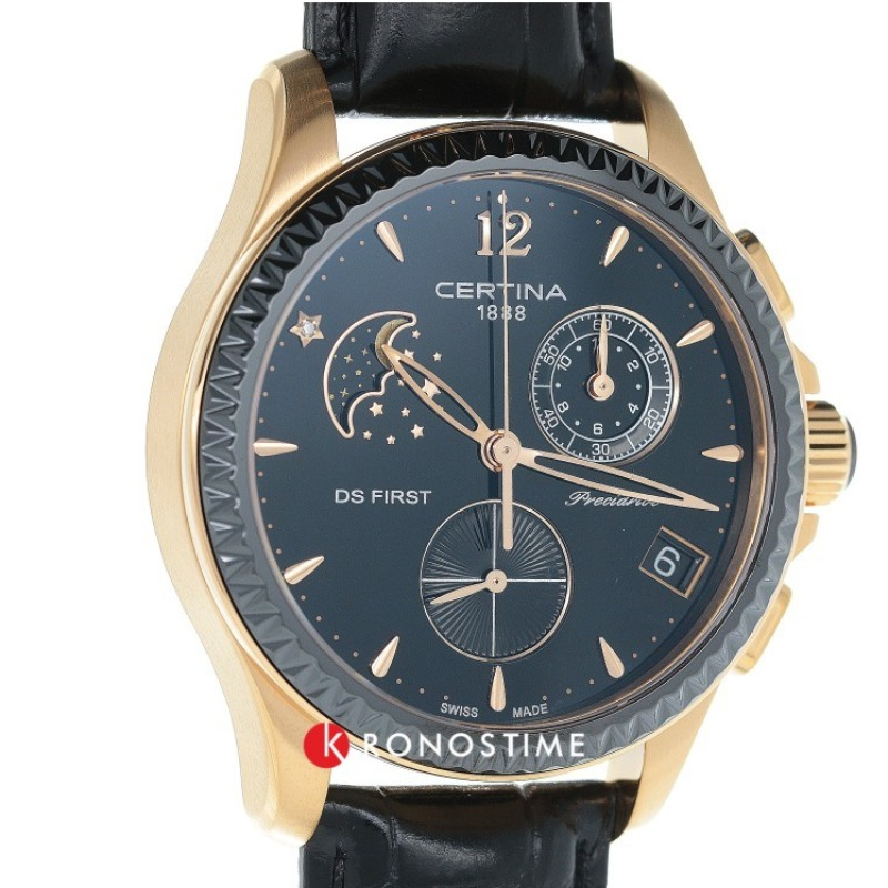 Фотография часов Certina DS First Lady Chronograph Moon Phase C030.250.36.056.00_34