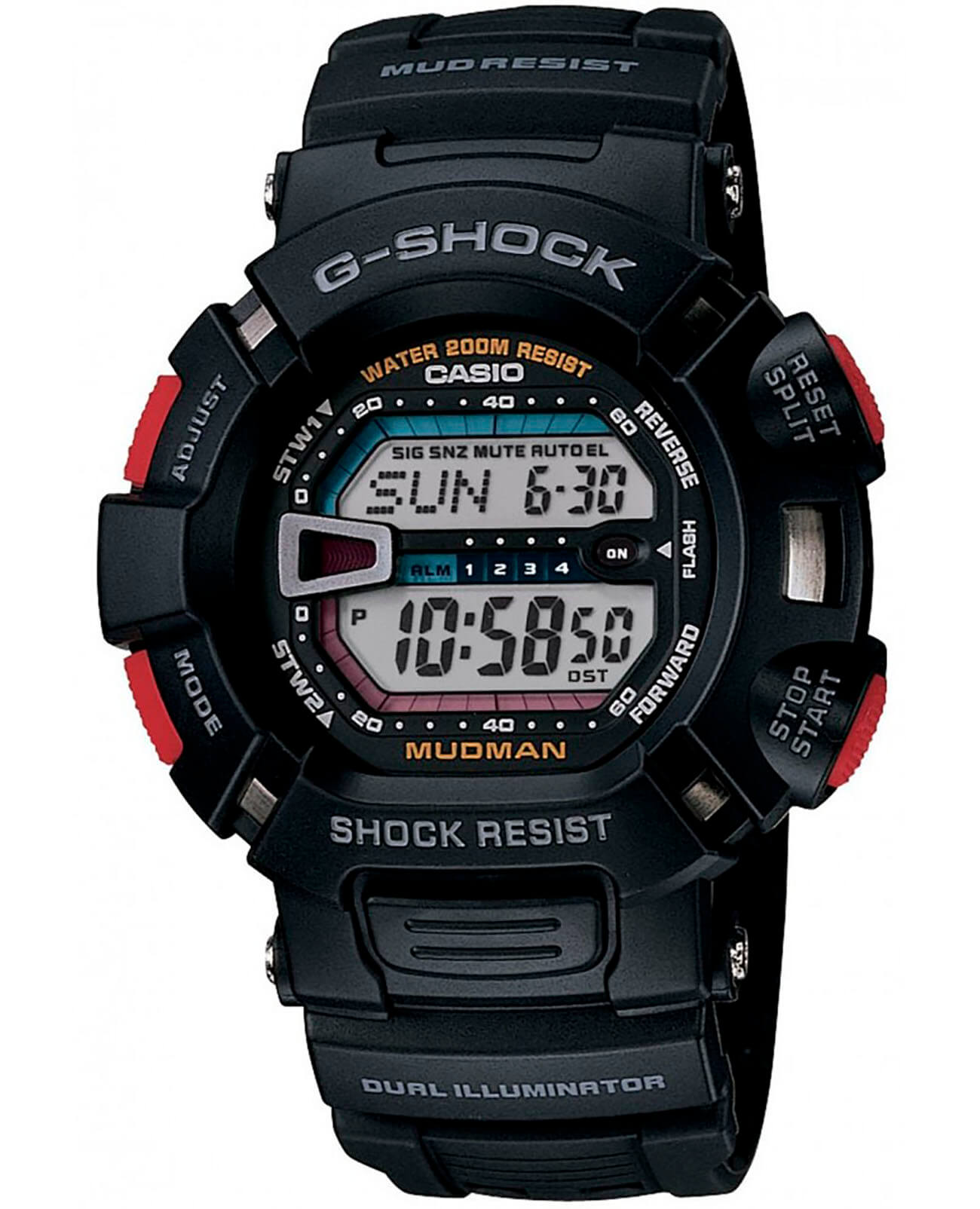 Часы Casio G-Shock G-9000-1VER