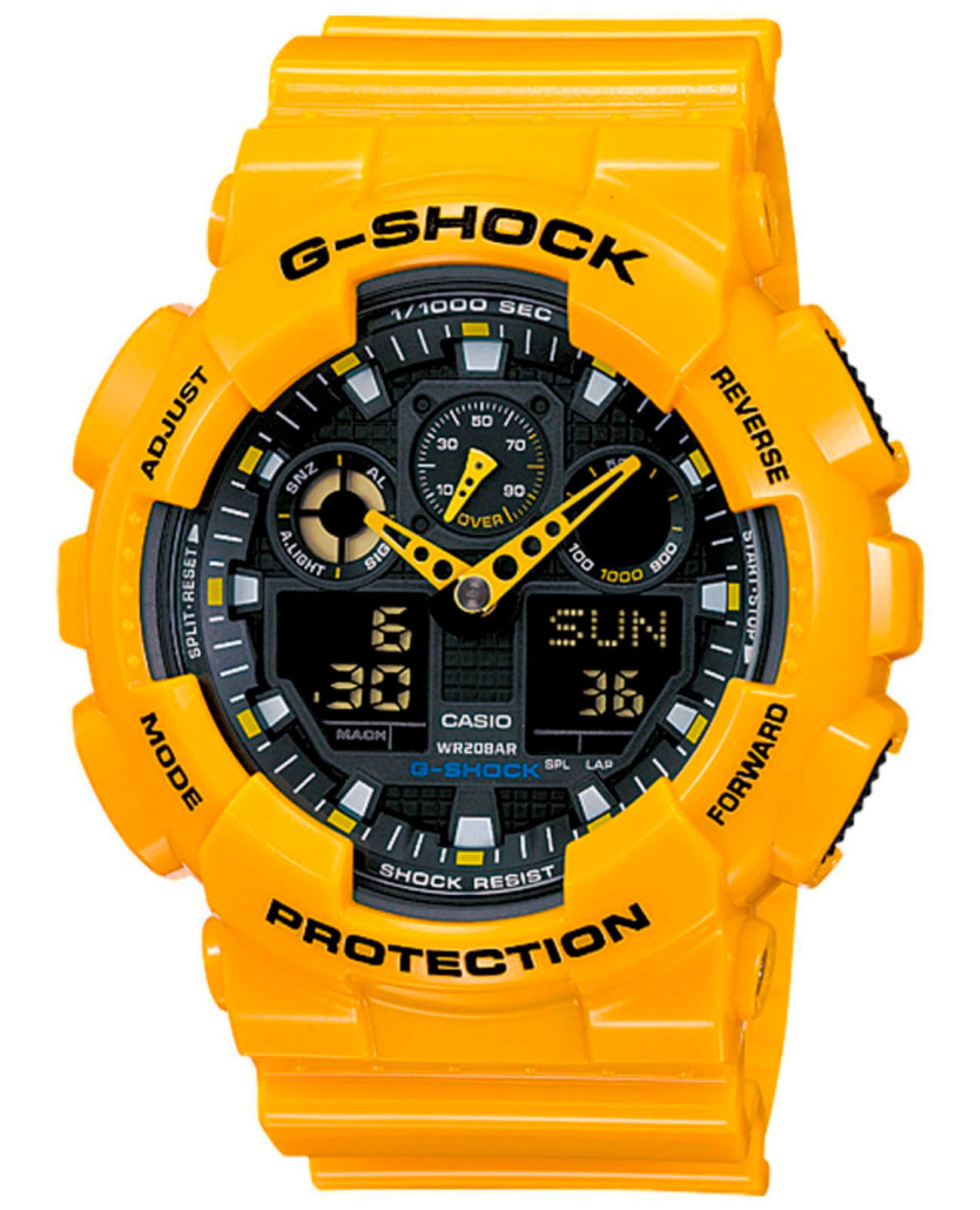 Часы Casio G-Shock GA-100A-9AER