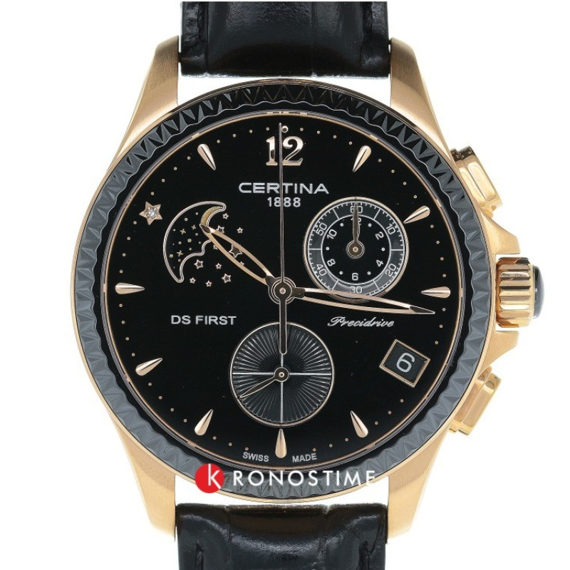 Фотография часов Certina DS First Lady Chronograph Moon Phase C030.250.36.056.00