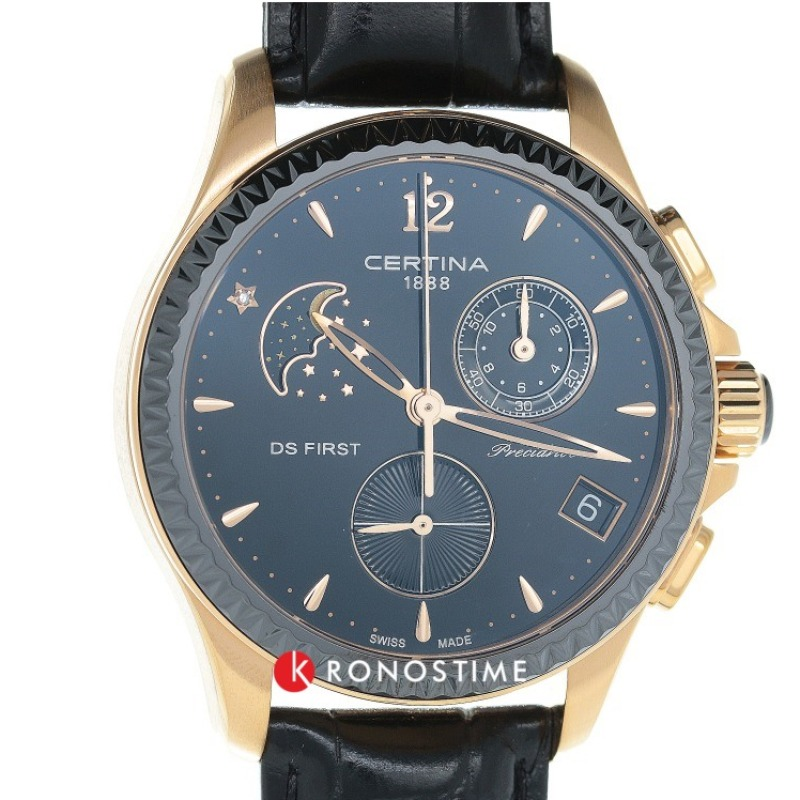 Фотография часов Certina DS First Lady Chronograph Moon Phase C030.250.36.056.00_35